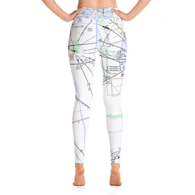 Miami Low Altitude Yoga Leggings