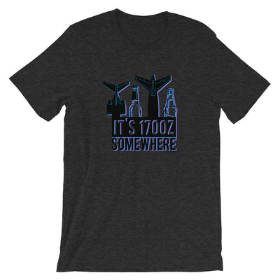 It's 1700z Somewhere T-Shirt - RadarContact