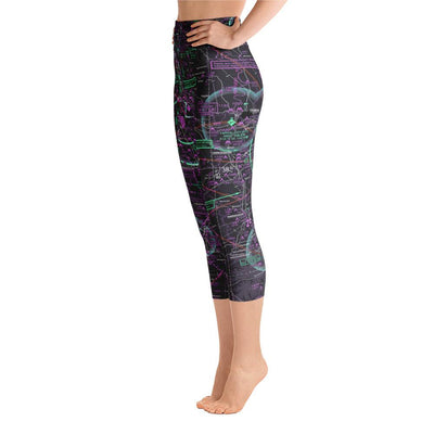 Louisville Sectional Yoga Capri Leggings (Inverted) - RadarContact