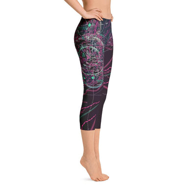 Charleston Sectional Capri Leggings (Inverted) - RadarContact