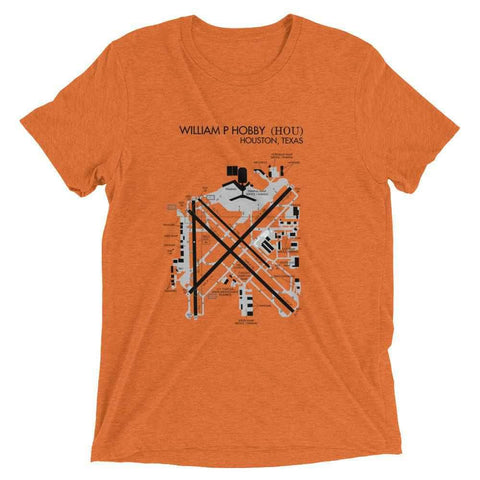 Houston Hobby Airport Diagram Men's T-Shirt - RadarContact - ATC Memes
