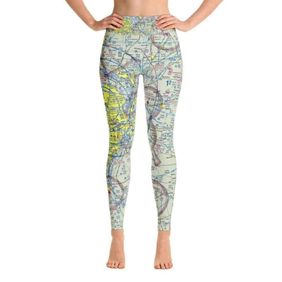 St Louis Sectional Yoga Leggings - RadarContact