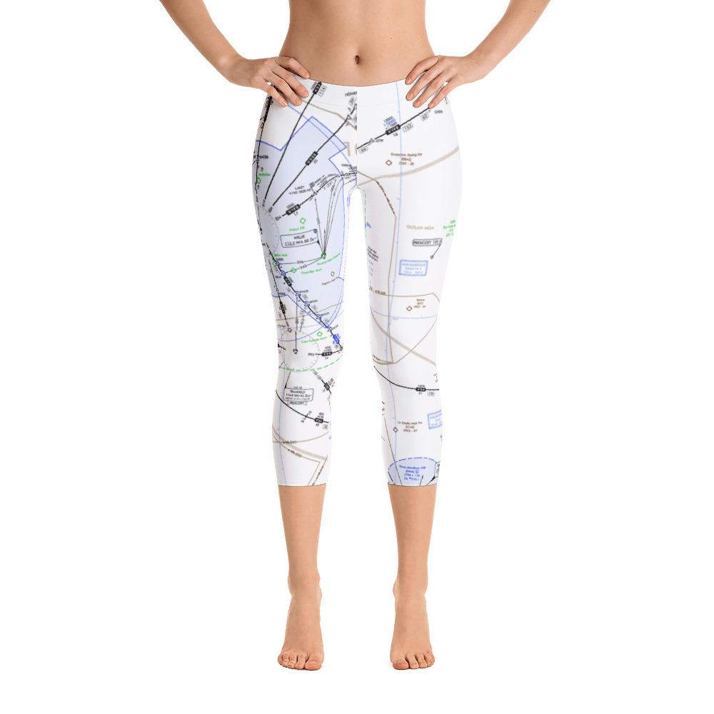 Phoenix Low Altitude Capri Leggings - RadarContact
