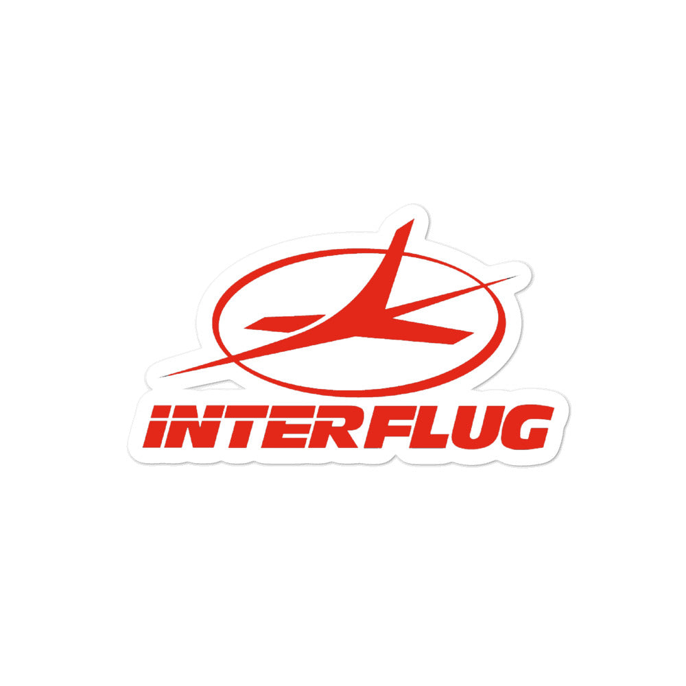 Retro Interflug Sticker