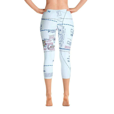 Puerto Rico Sectional Capri Leggings