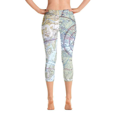 Anchorage Sectional Capri Leggings - RadarContact - ATC Memes