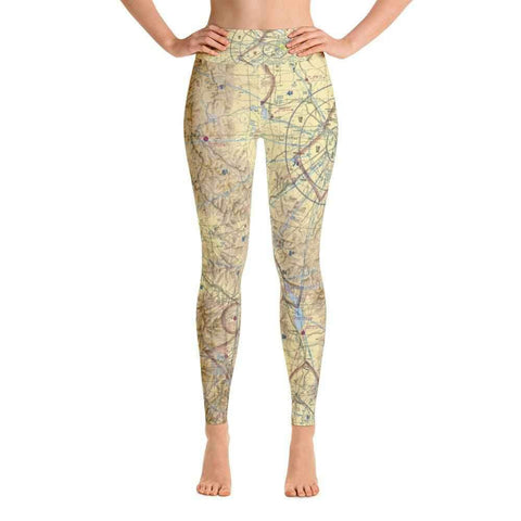 Great Falls Sectional Yoga Leggings - RadarContact - ATC Memes
