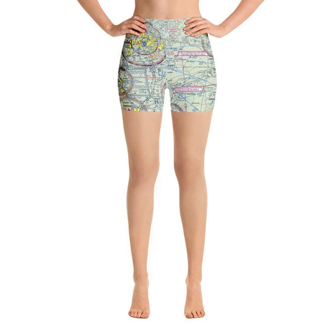 Louisville Sectional Yoga Shorts - RadarContact