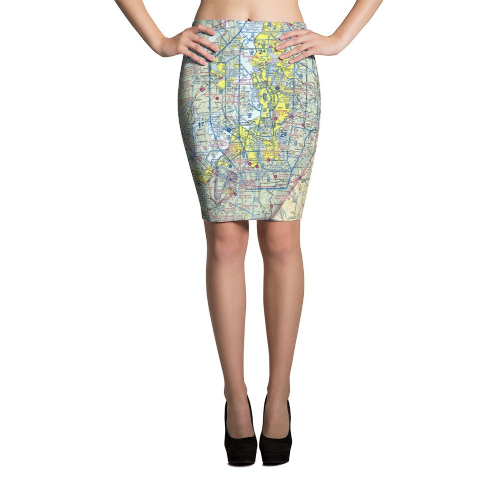 Seattle Sectional Pencil Skirt