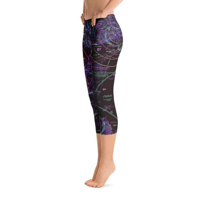 New Orleans Sectional Capri Leggings (Inverted) - RadarContact