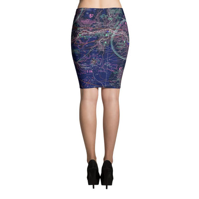 Portland Sectional Pencil Skirt (Inverted)