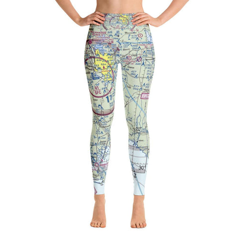 Tallahassee Sectional Yoga Leggings