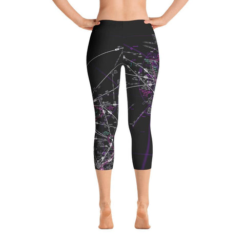 Hawaii High Altitude Capri Leggings (Inverted) - RadarContact - ATC Memes