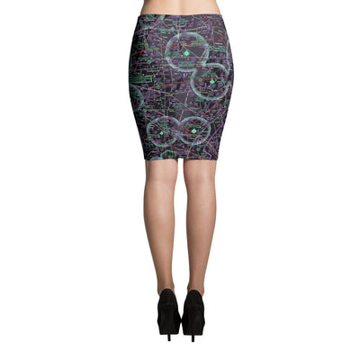 Indianapolis Sectional Pencil Skirt (Inverted) - RadarContact - ATC Memes