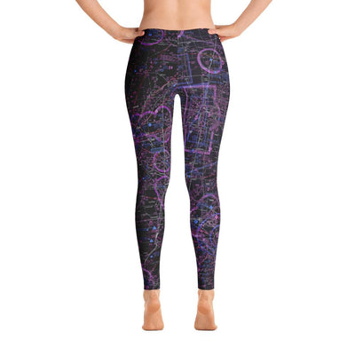 Oklahoma City/Tulsa Sectional Leggings (Inverted)