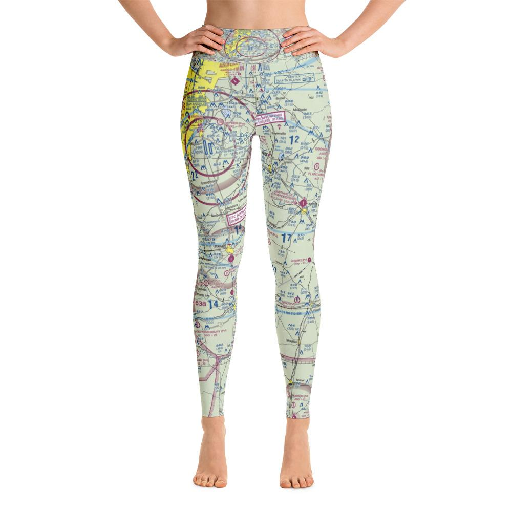 Austin Sectional Yoga Leggings - RadarContact - ATC Memes