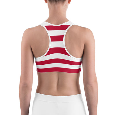 Aviation American Pride Sports Bra - RadarContact