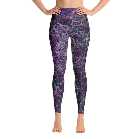 St Louis Sectional Yoga Leggings (Inverted)