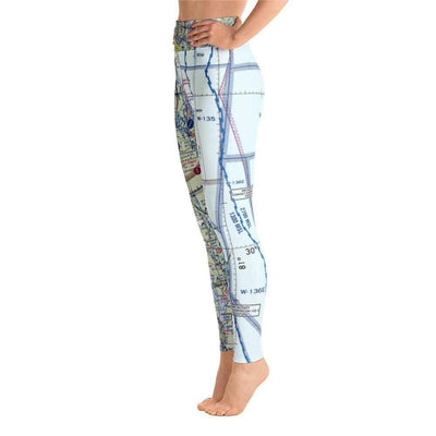 Jacksonville Sectional Yoga Leggings - RadarContact - ATC Memes