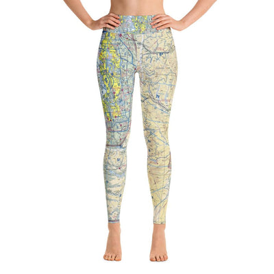 Seattle Sectional Yoga Leggings - RadarContact