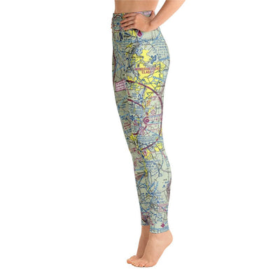 Bradley Sectional Yoga Leggings - RadarContact - ATC Memes