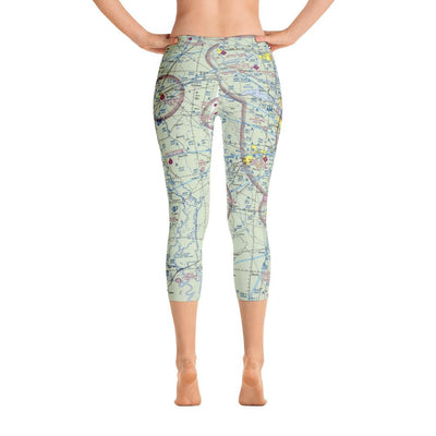 Little Rock Sectional Capri Leggings - RadarContact