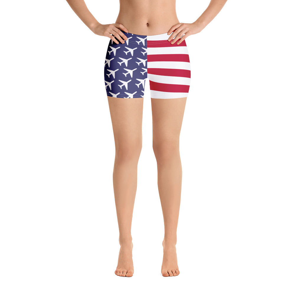 American Aviation Pride Shorts