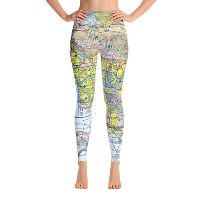 Los Angeles Sectional Yoga Leggings - RadarContact