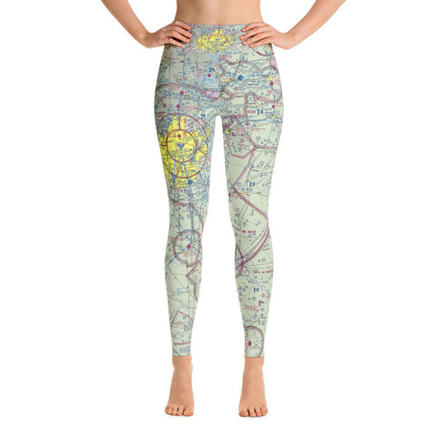 San Antonio Sectional Yoga Leggings