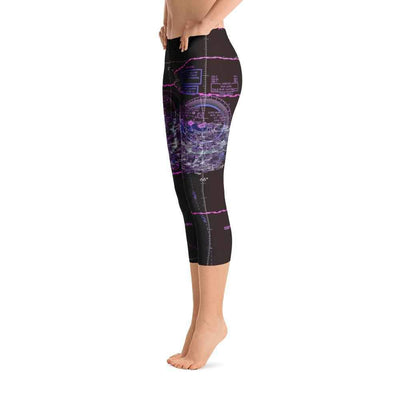 Puerto Rico Sectional Capri Leggings (Inverted)