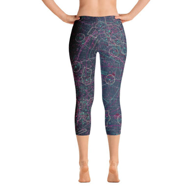 Wichita Falls Sectional Capri Leggings (Inverted)