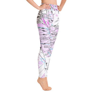 Los Angeles Low Altitude Yoga Leggings