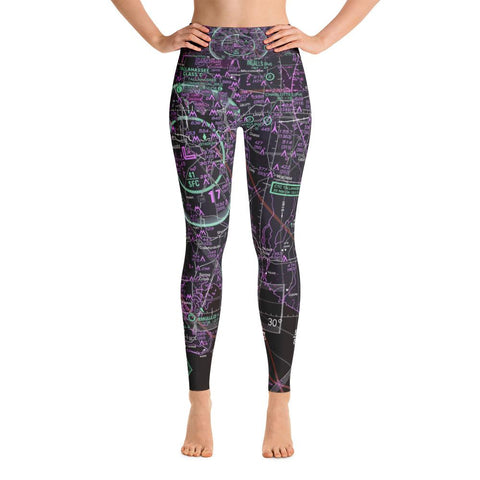Tallahassee Sectional Yoga Leggings (Inverted)