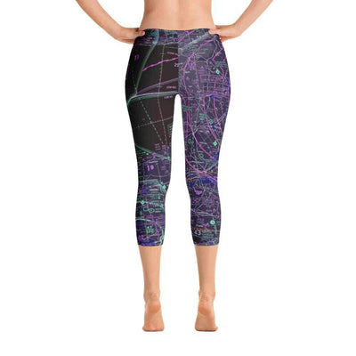 Toronto Sectional Capri Leggings (Inverted)