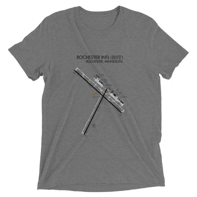 Rochester Minnesota Airport Diagram Men's T-Shirt
