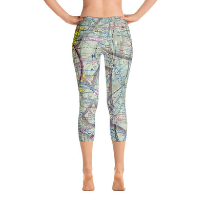 Bradley Sectional Capri Leggings - RadarContact - ATC Memes