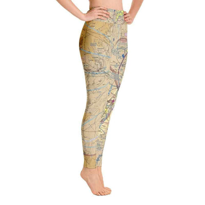Albuquerque Sectional Yoga Leggings - RadarContact - ATC Memes