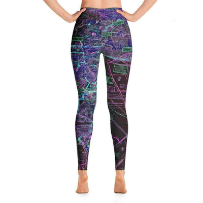 Los Angeles Sectional Yoga Leggings (Inverted) - RadarContact