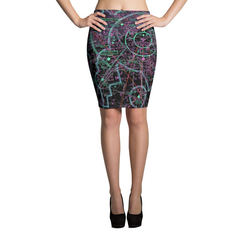 San Antonio Sectional Pencil Skirt (Inverted)