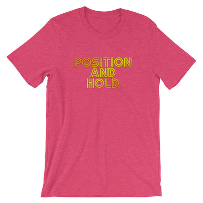Position and Hold Retro T-Shirt