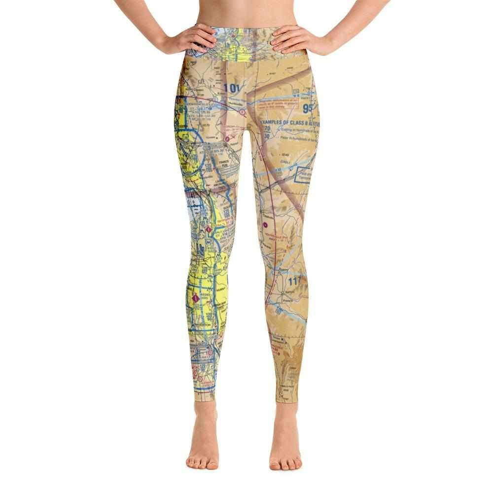 Salt Lake Sectional Yoga Leggings
