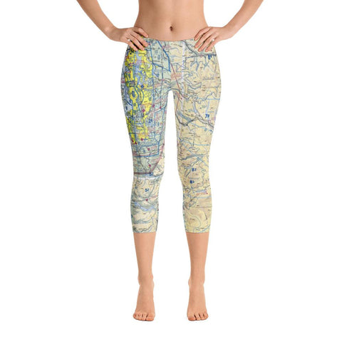 Seattle Sectional Capri Leggings