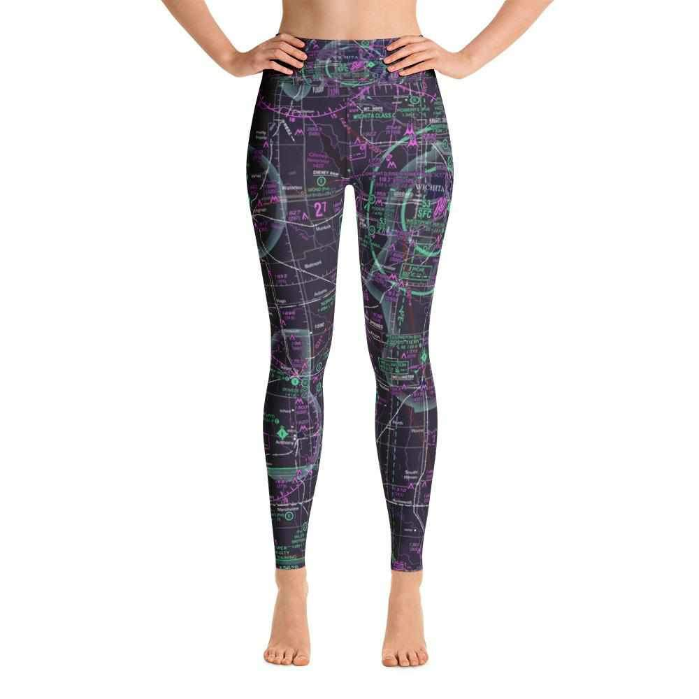 Wichita Sectional Yoga Leggings (Inverted) - RadarContact