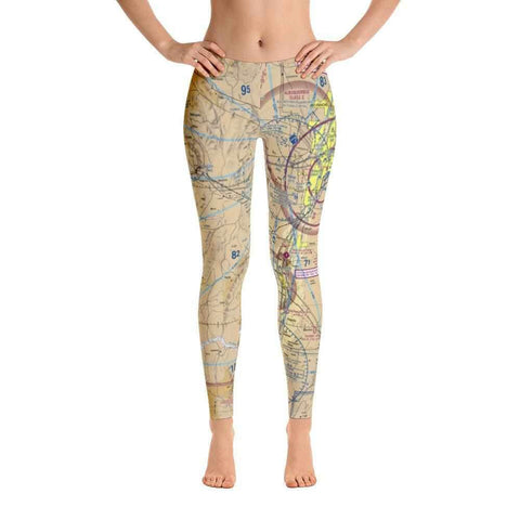 Albuquerque Sectional Leggings - RadarContact - ATC Memes