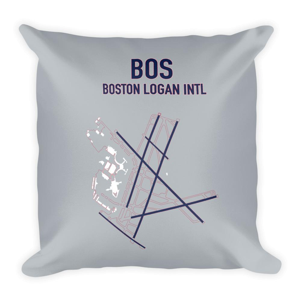 Boston Airport Code Pillow (Redsox and Patriot Colors) - RadarContact - ATC Memes