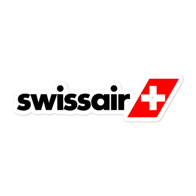 Retro Swissair Sticker
