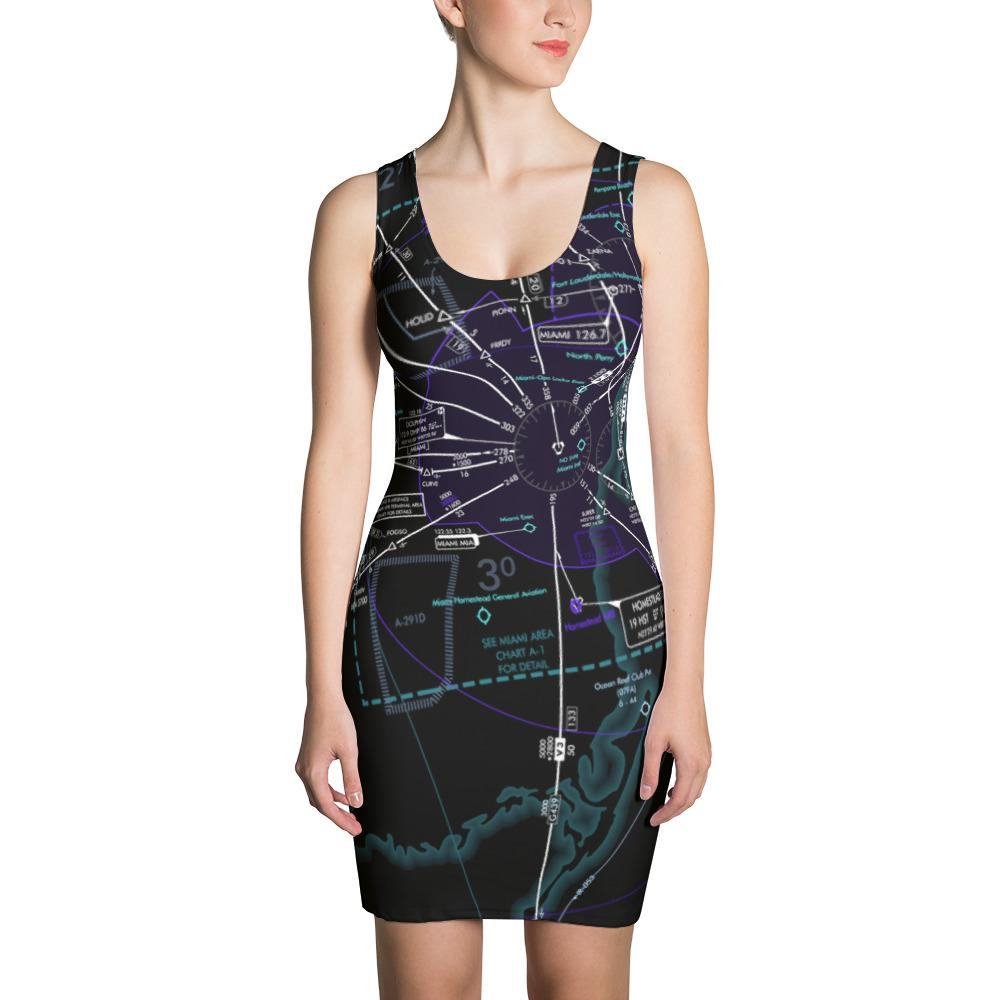 Miami Low Altitude Dress (Inverted) - RadarContact