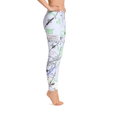 New York Low Altitude Leggings - RadarContact