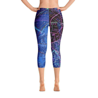 Salt Lake Sectional Capri Leggings (Inverted)
