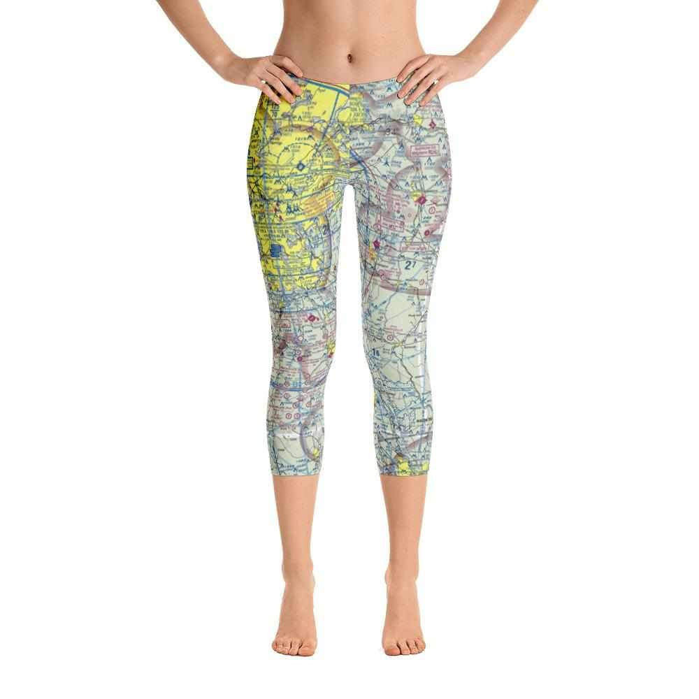 Atlanta Sectional Capri Leggings - RadarContact